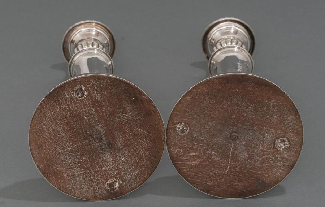 George III Period English Sterling Candlesticks - 3