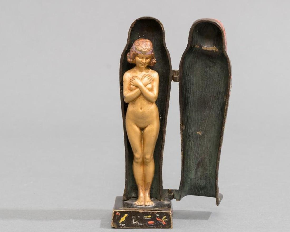 After Franz Xaver Bergmann Erotic Sarcophagus Cold