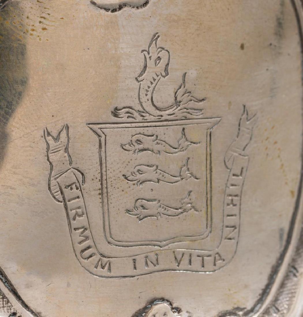 Irish Silver Dish/Potato Ring ca 1775 - 5