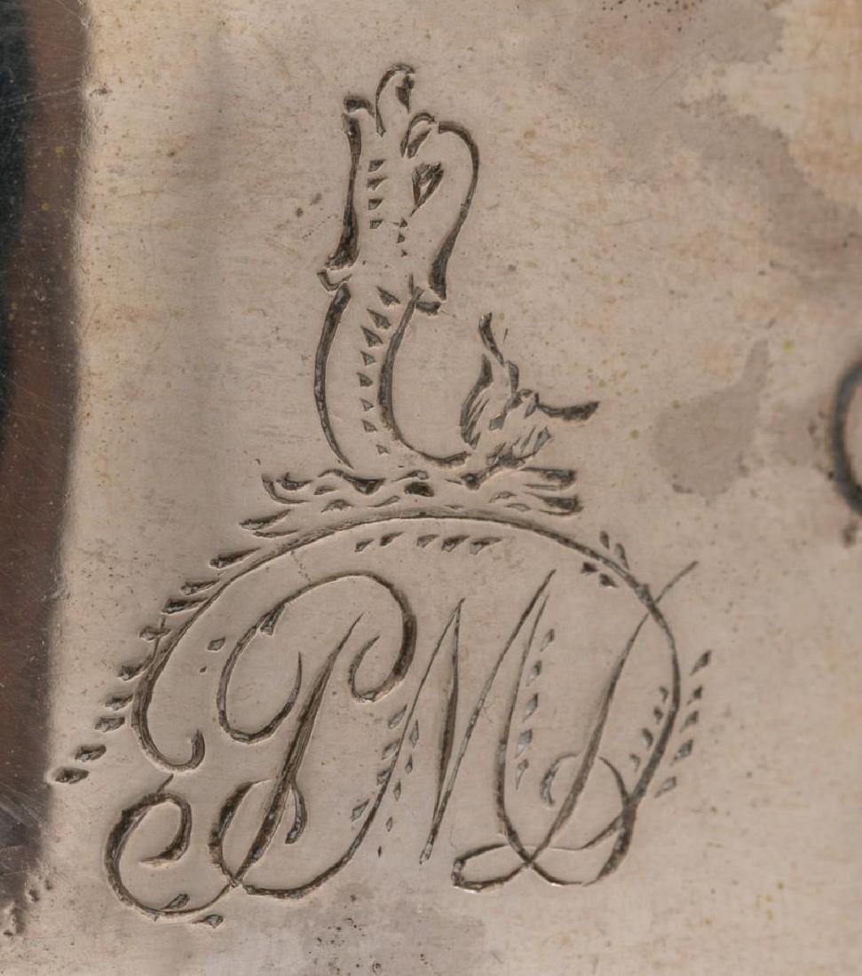 Irish Silver Dish/Potato Ring ca 1775 - 6