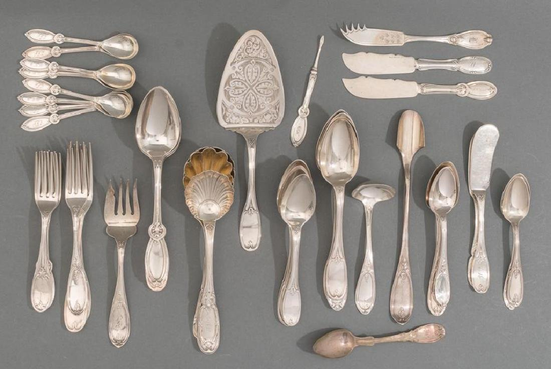 Collection of Early American Sterling Silver Flatware
