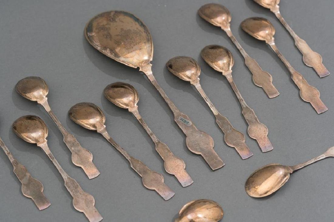 Newell Harding Boston ca 1870 Ice Cream Set Pure Coin - 3