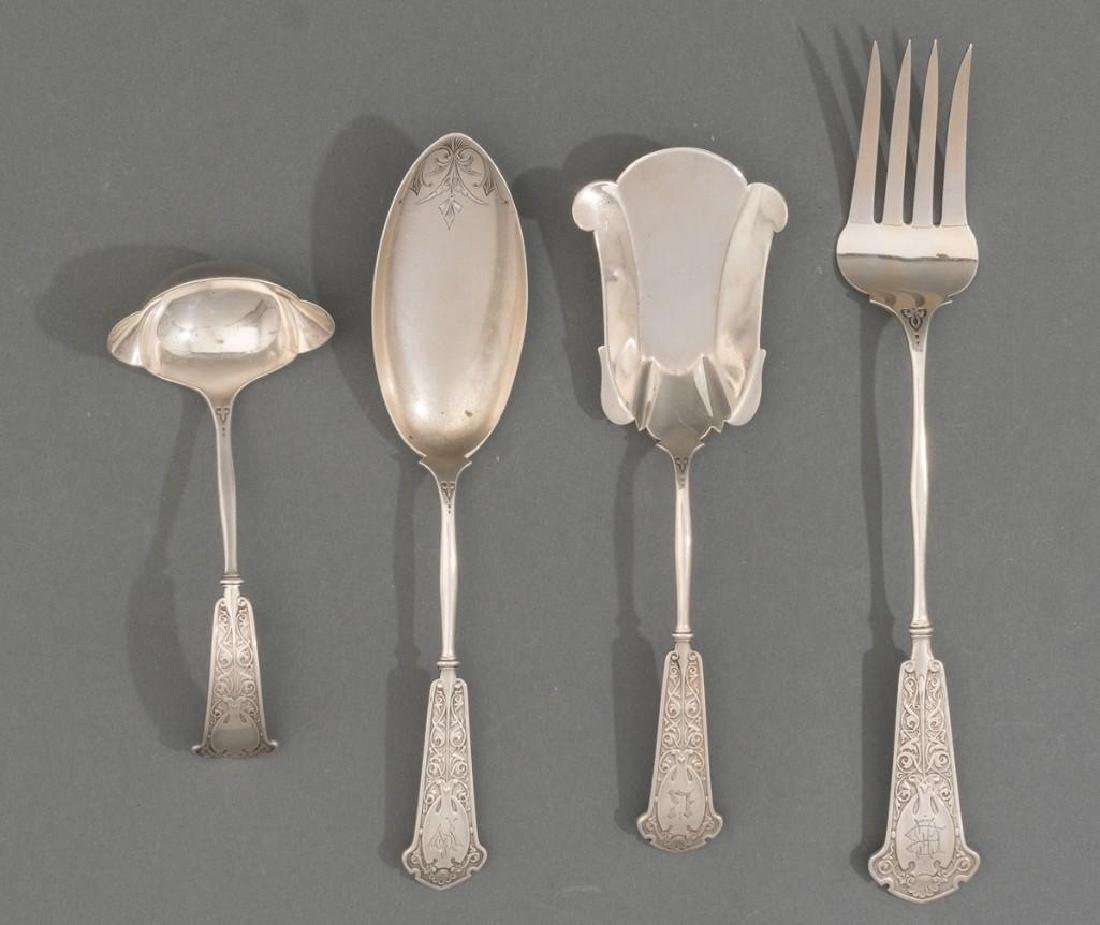 Arabesque by John Wendt Sterling Silver Serving Pieces