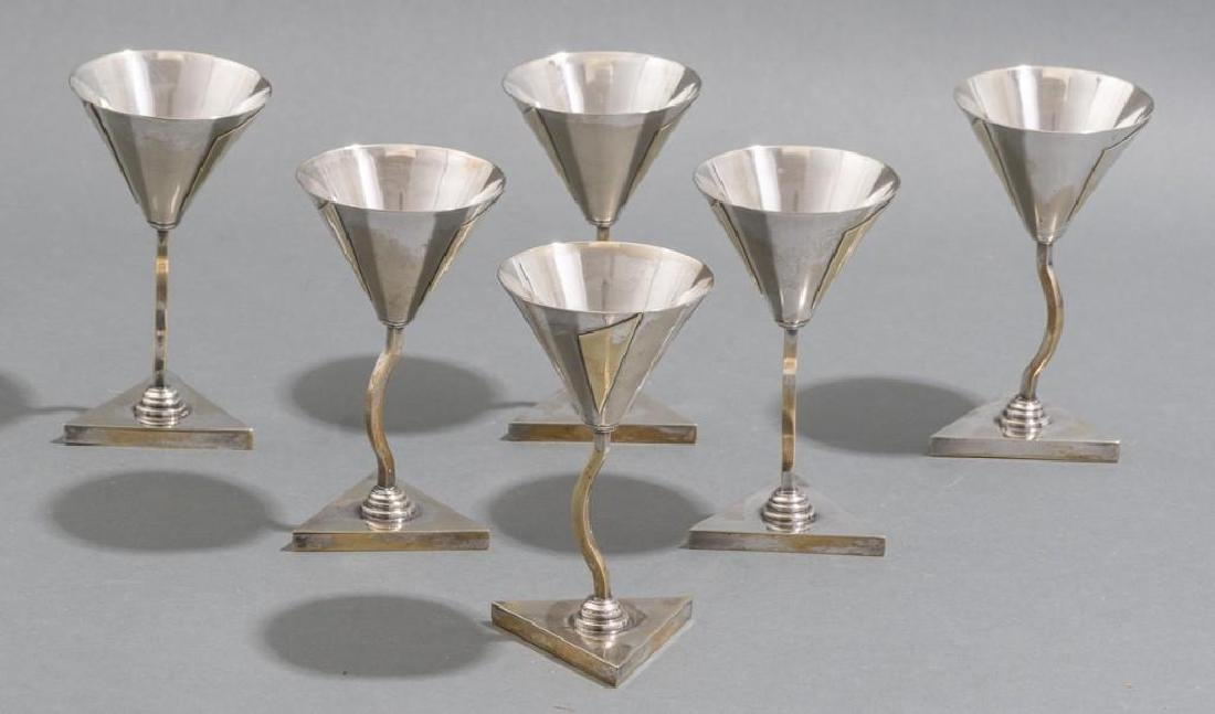 Elsa Tennhardt Rare Set of 6 Cocktail Cups