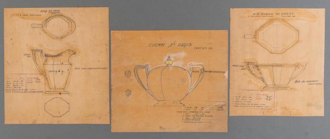 Early Cartier Design Sketches