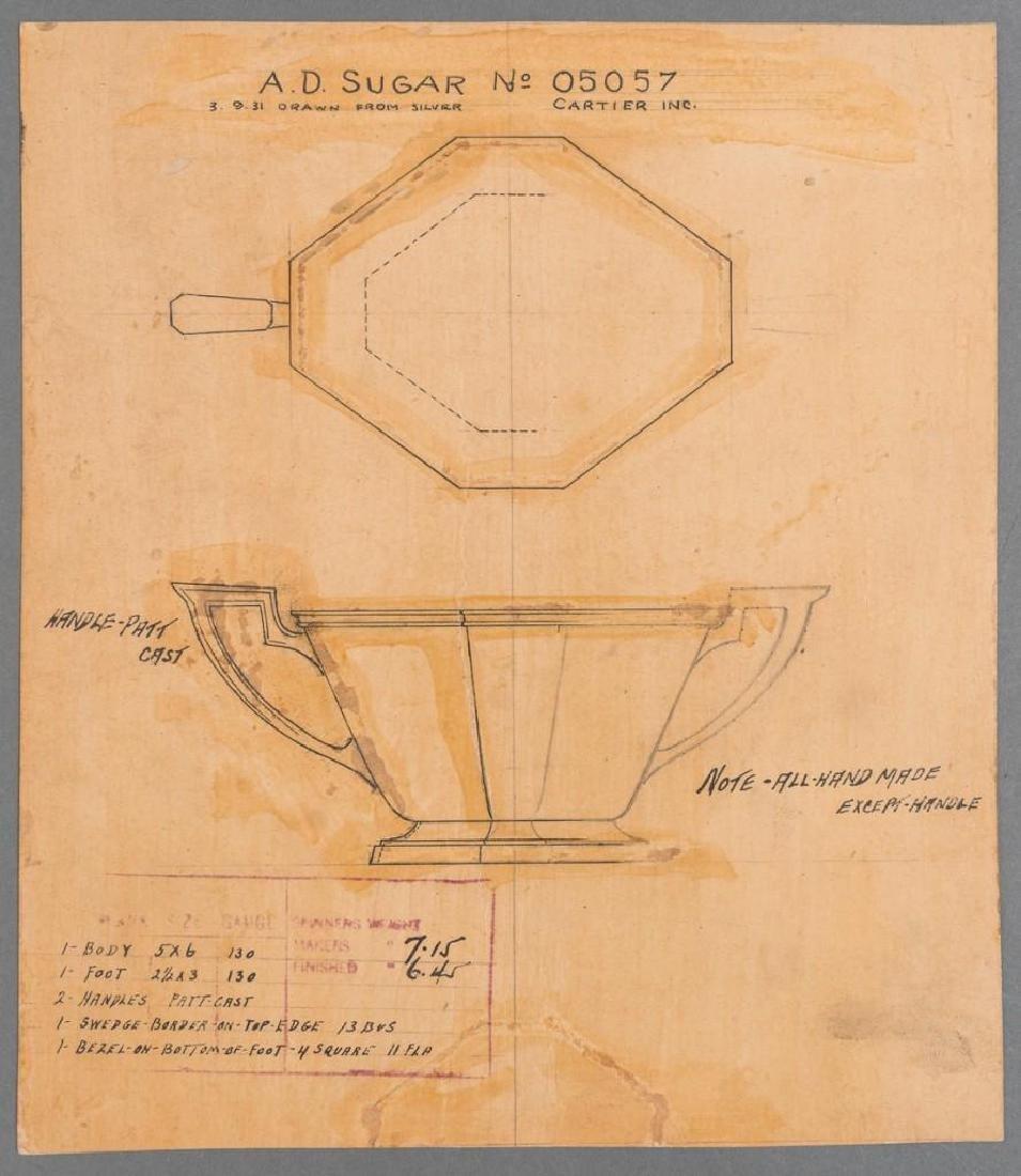 Early Cartier Design Sketches - 2
