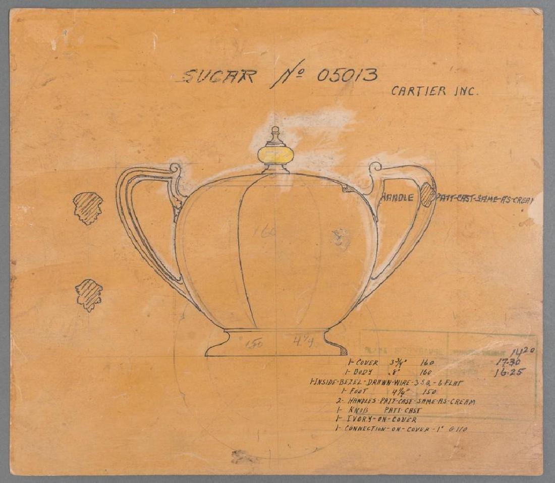 Early Cartier Design Sketches - 3
