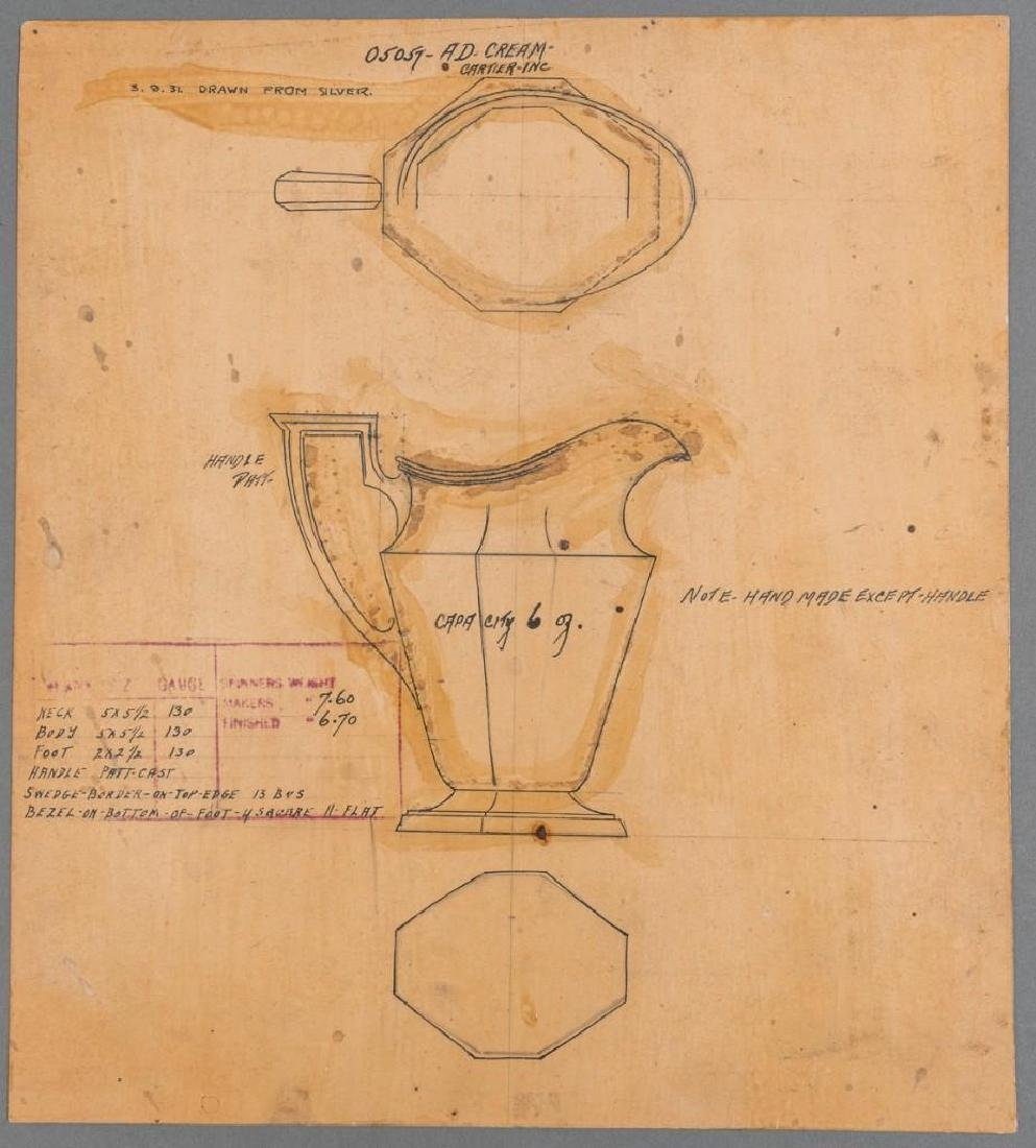 Early Cartier Design Sketches - 4