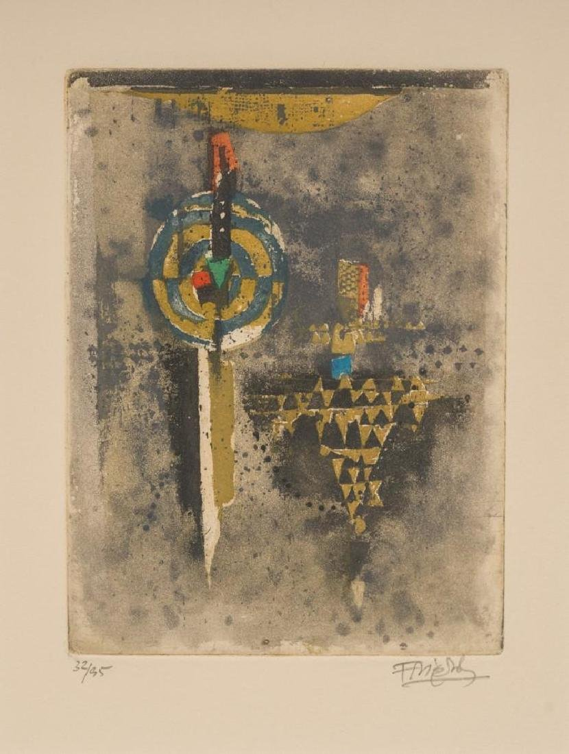 Johnny Friedlaender (German/French 1912-1992), Pair of - 2