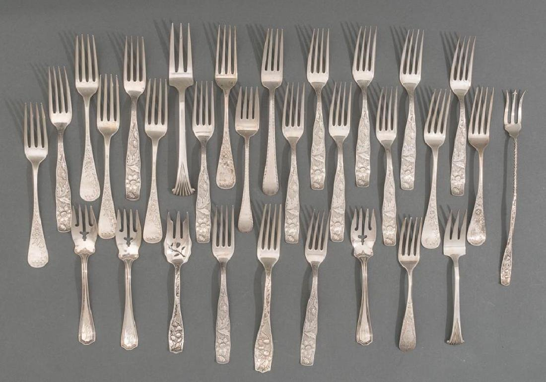 (30) Assorted Foreign & American Early Sterling Silver