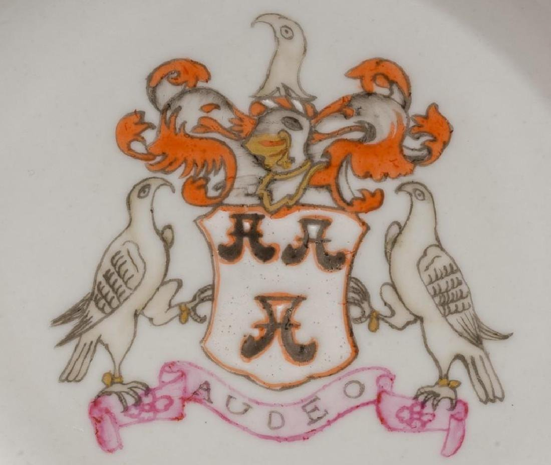 (4) Chinese Export Armorial Porcelain - 2