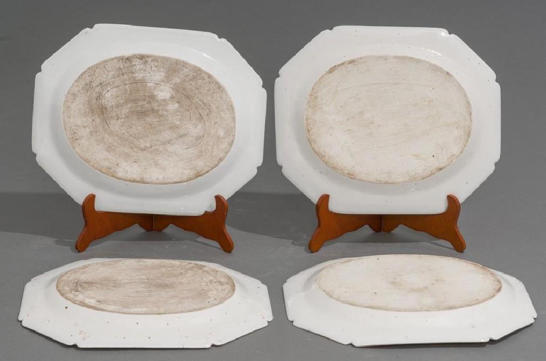 (4) Chinese Export Armorial Porcelain Platters - 4
