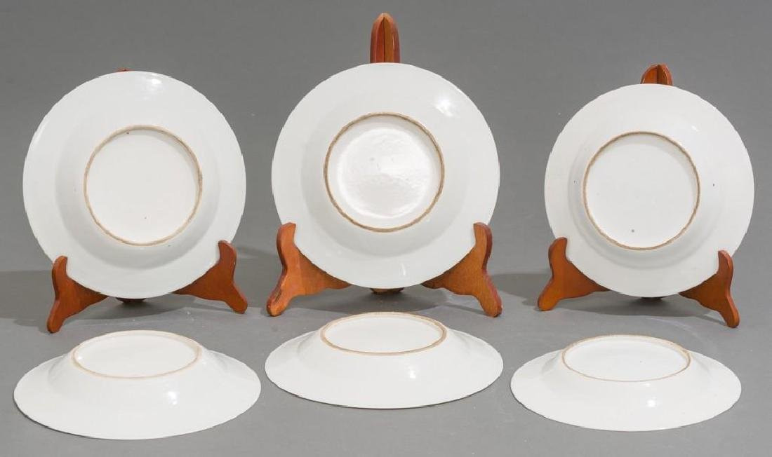 (6) Chinese Export Armorial Porcelain Dishes - 5