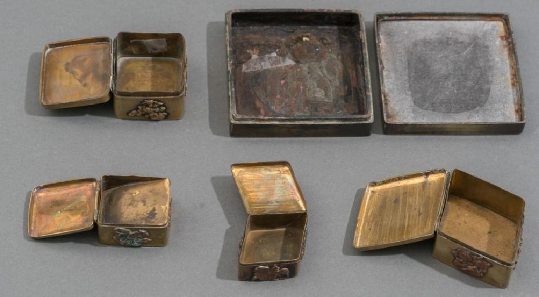 (8) Collection of Asian Brass & Mixed Metal Pieces - 3