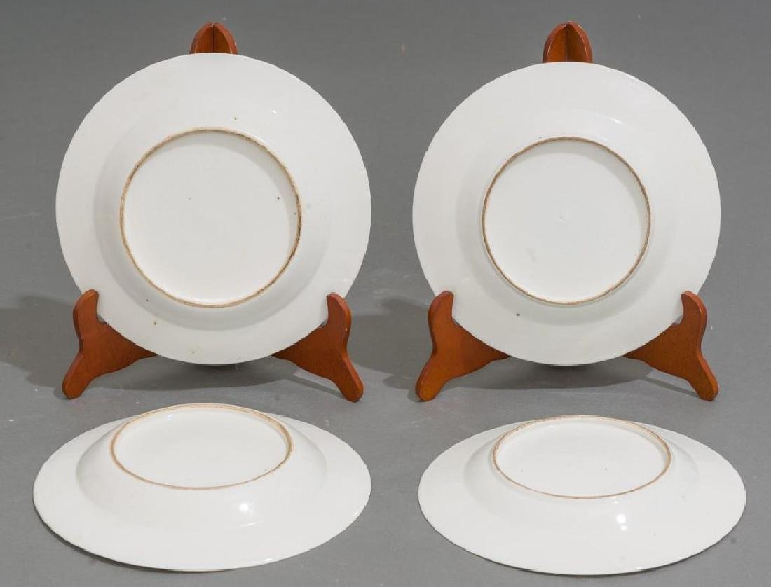 (4) Chinese Export Armorial Porcelain Dishes - 4