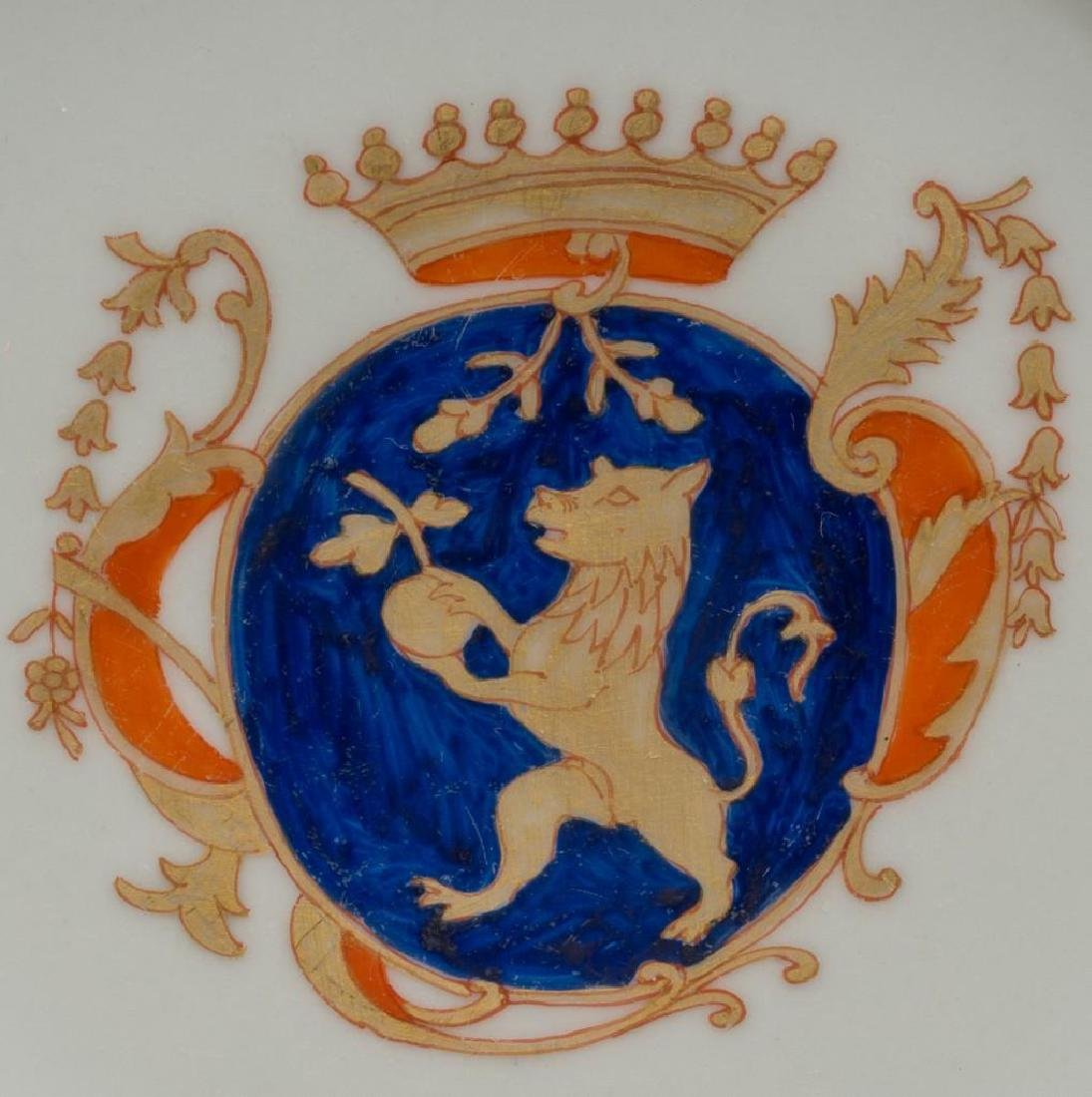 (5) Chinese Export Armorial Porcelain - 2