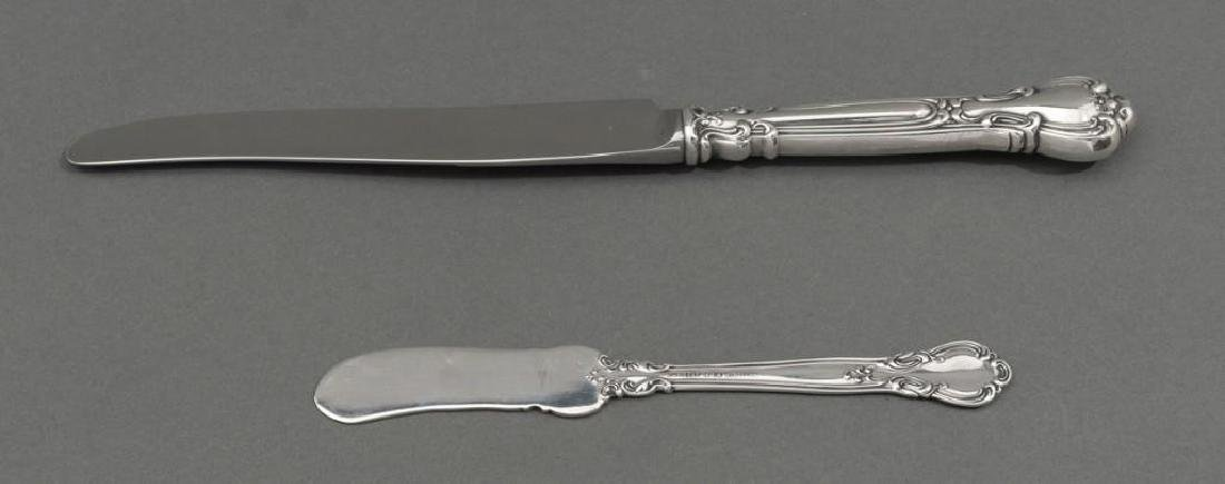 'Chantilly' by Gorham Sterling Silver 79 Piece Flatware - 7