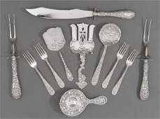 Assorted Collection of Sterling Silver Serving Pieces
