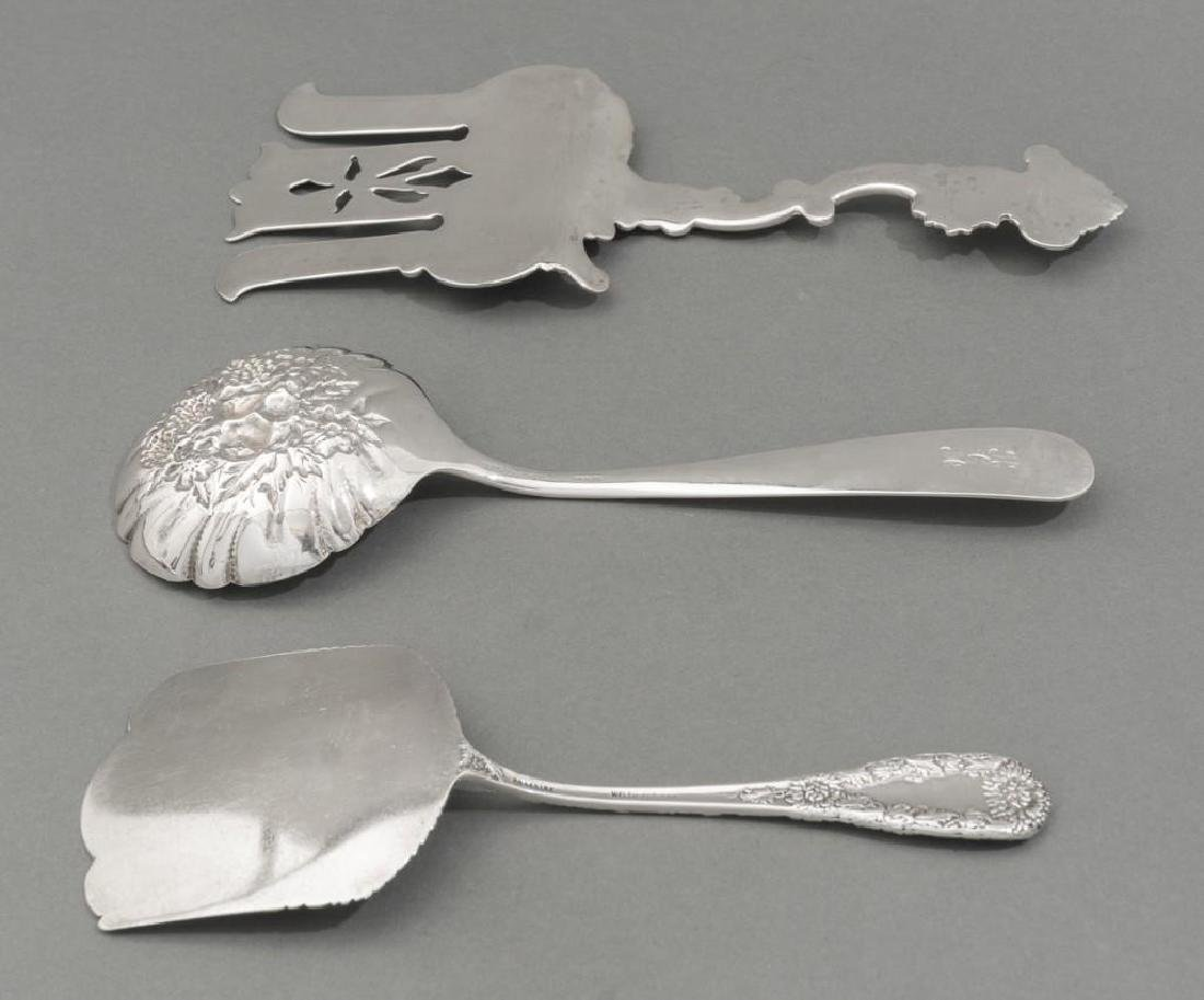 Assorted Collection of Sterling Silver Serving Pieces - 5