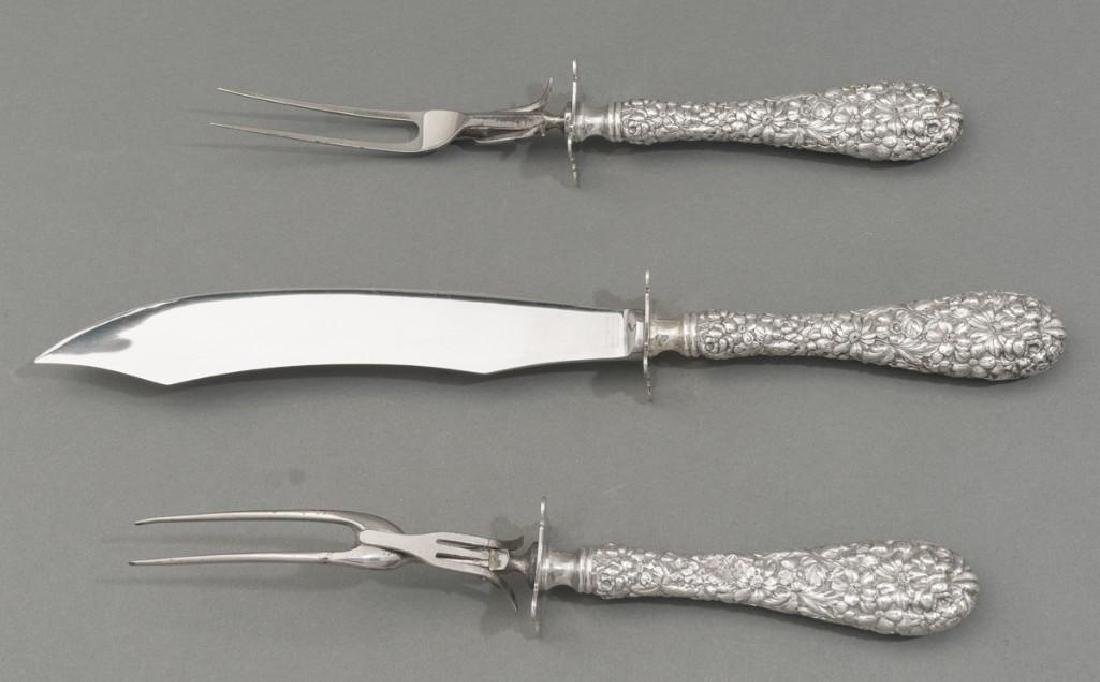 Assorted Collection of Sterling Silver Serving Pieces - 9