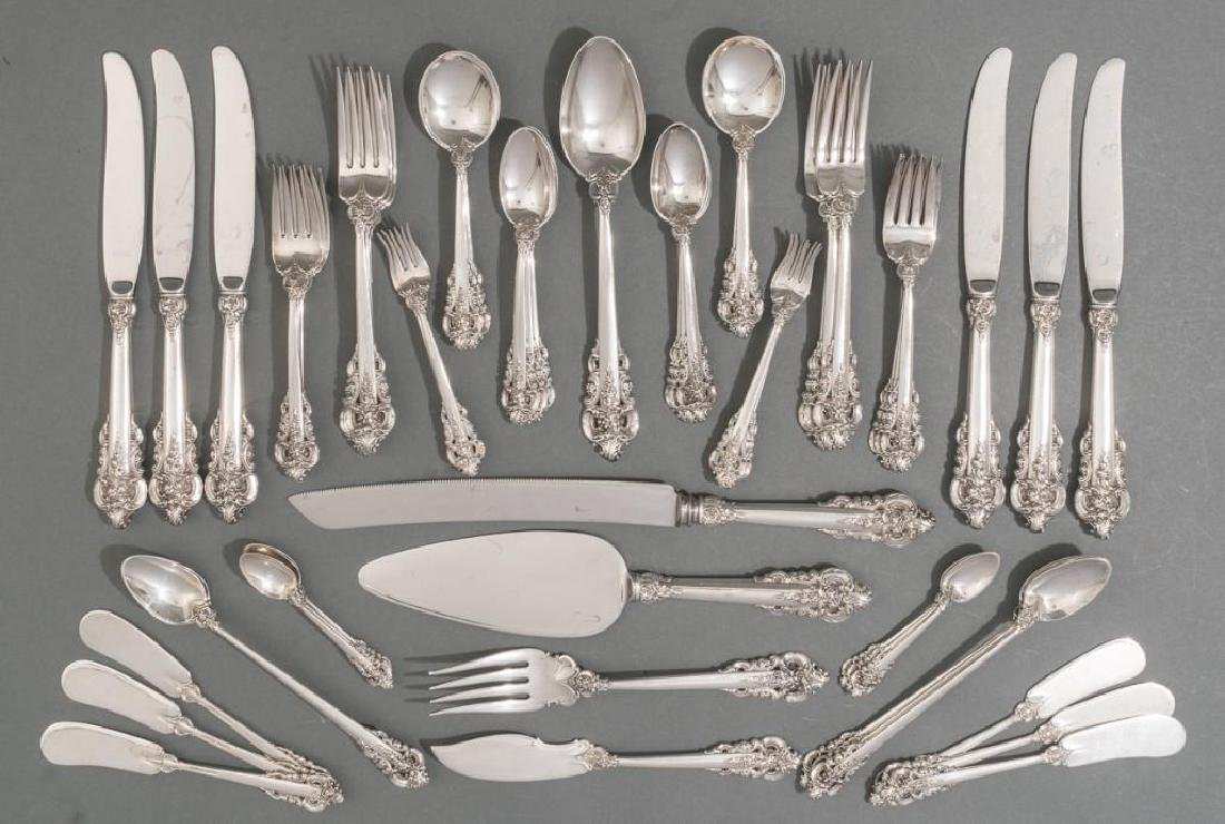 Grande Baroque by Wallace 59 Piece Sterling Silver