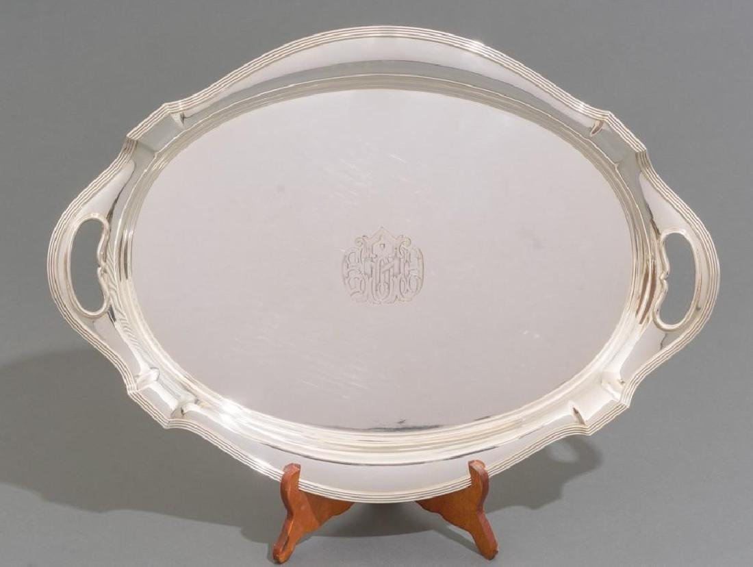 Plymouth by Gorham Sterling Silver Waiter