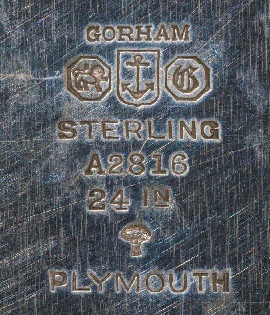 Plymouth by Gorham Sterling Silver Waiter - 2