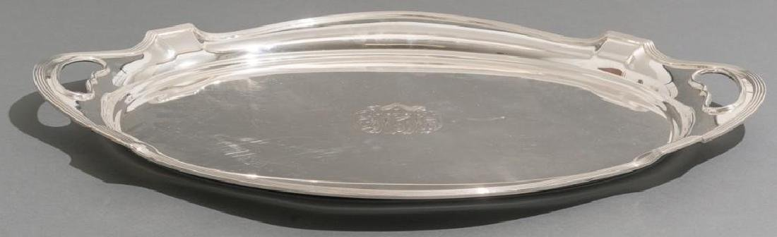 Plymouth by Gorham Sterling Silver Waiter - 3