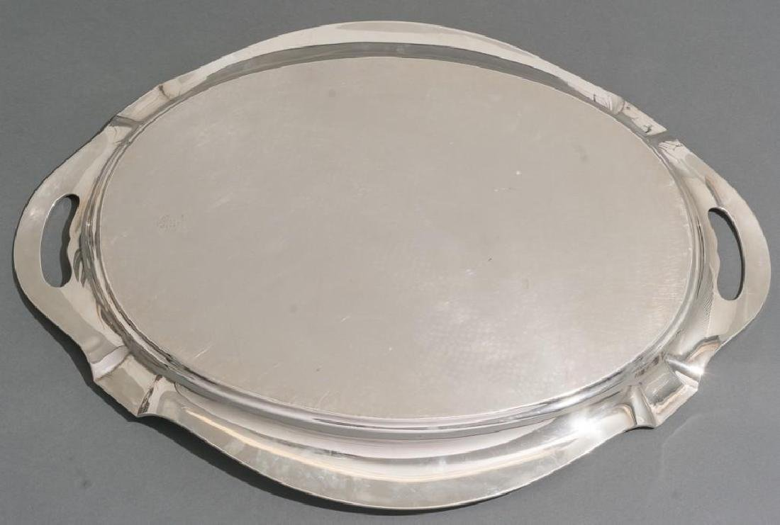 Plymouth by Gorham Sterling Silver Waiter - 4