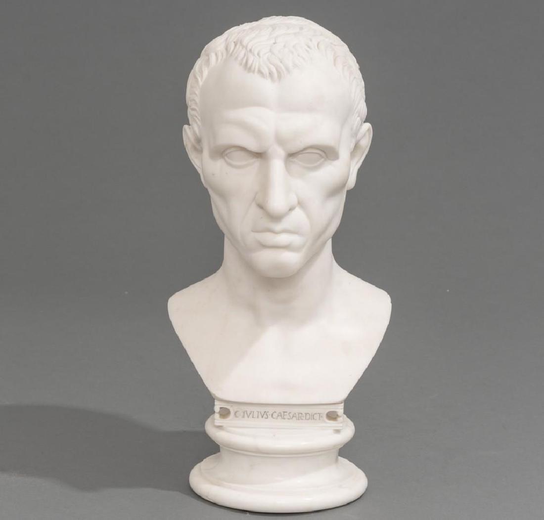 Italian Marble Bust of Julius Caesar ca 18/19th C.