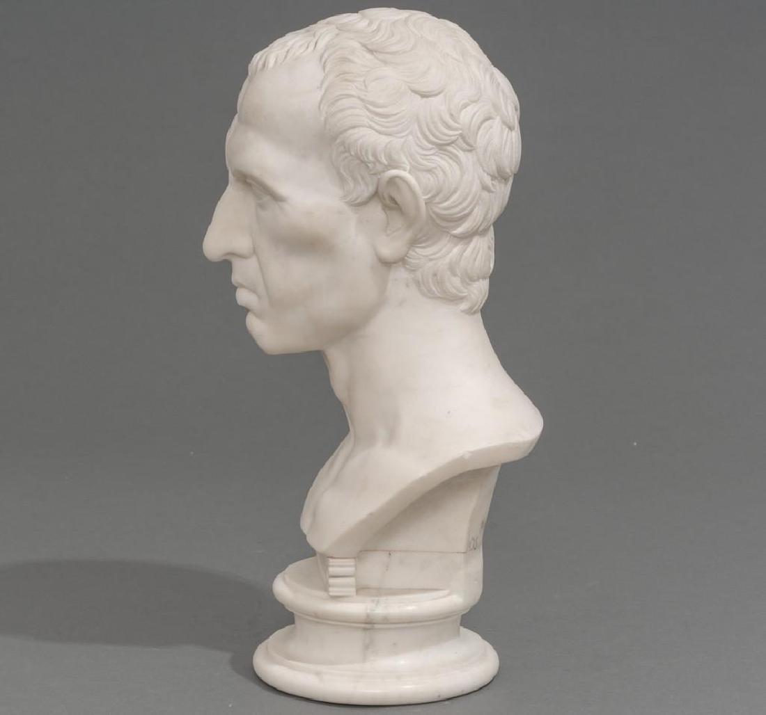 Italian Marble Bust of Julius Caesar ca 18/19th C. - 2