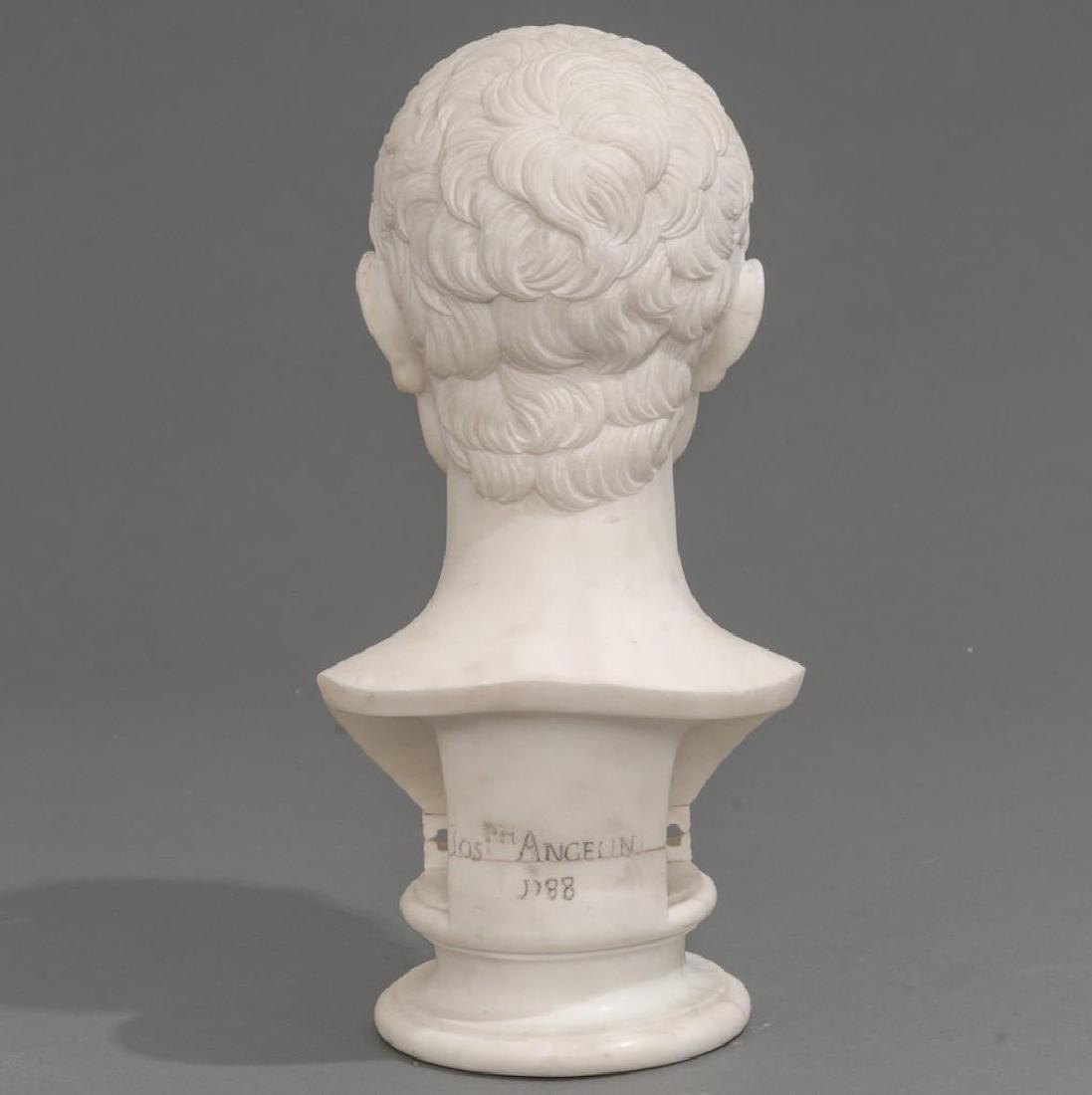Italian Marble Bust of Julius Caesar ca 18/19th C. - 3