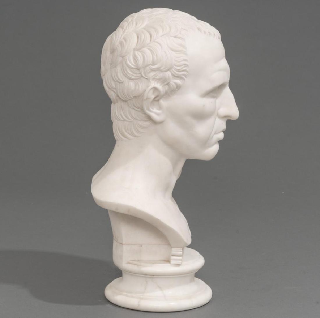 Italian Marble Bust of Julius Caesar ca 18/19th C. - 4