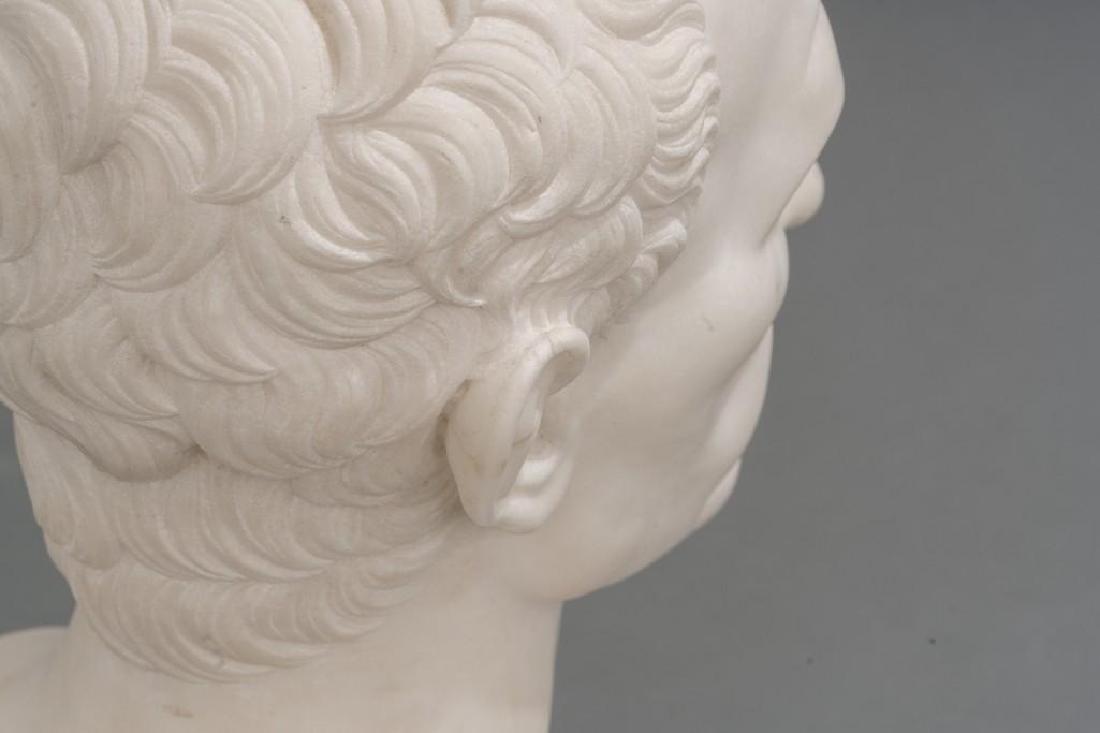 Italian Marble Bust of Julius Caesar ca 18/19th C. - 6
