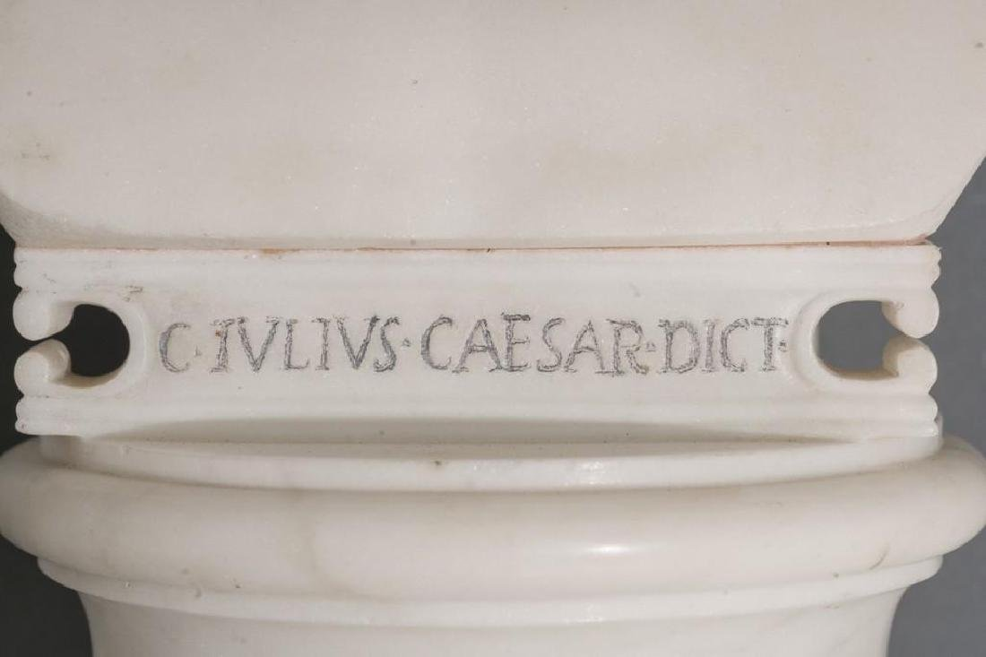 Italian Marble Bust of Julius Caesar ca 18/19th C. - 9