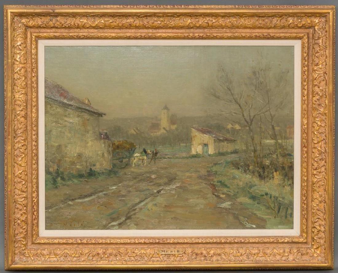 """Joseph Paul Mesle (French, 1855-1929), """"Givre et"""