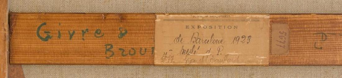 """Joseph Paul Mesle (French, 1855-1929), """"Givre et - 5"""
