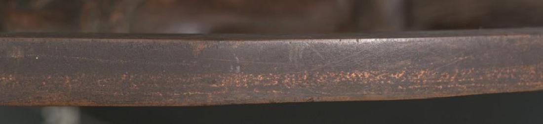 Antique Bronze Allegorical Plaque - 4