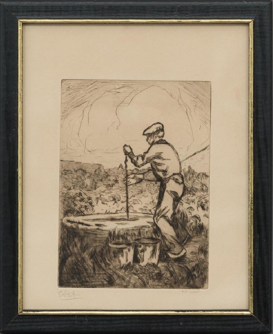 "Mary Bonner (Texas, 1887-1935), ""The Well"" (etat), - 2"