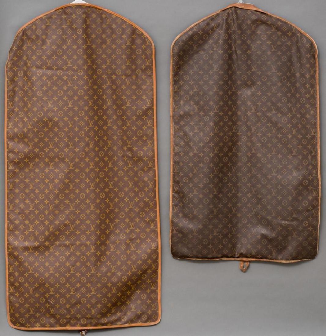 Two Vintage Louis Vuitton Monogram Garment Bags - 2