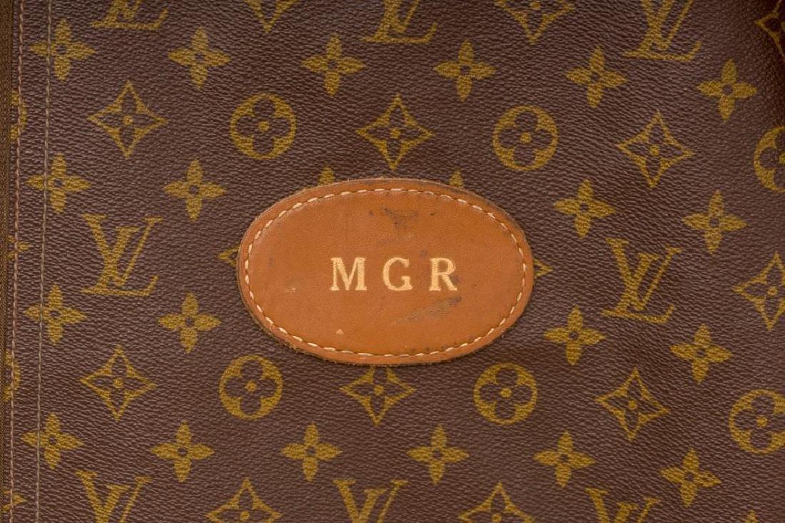 Two Vintage Louis Vuitton Monogram Garment Bags - 5