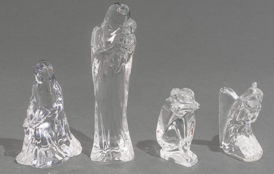 Collection of 14 Baccarat Crystal Figural Sculptures - 4