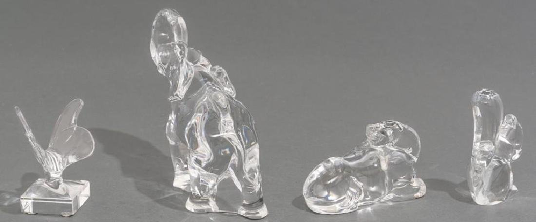 Collection of 14 Baccarat Crystal Figural Sculptures - 7