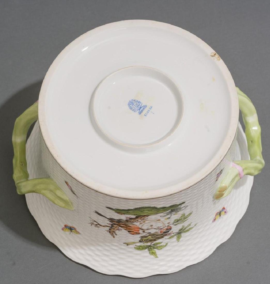 Pair of Herend Porcelain Ice / Wine Coolers - 5