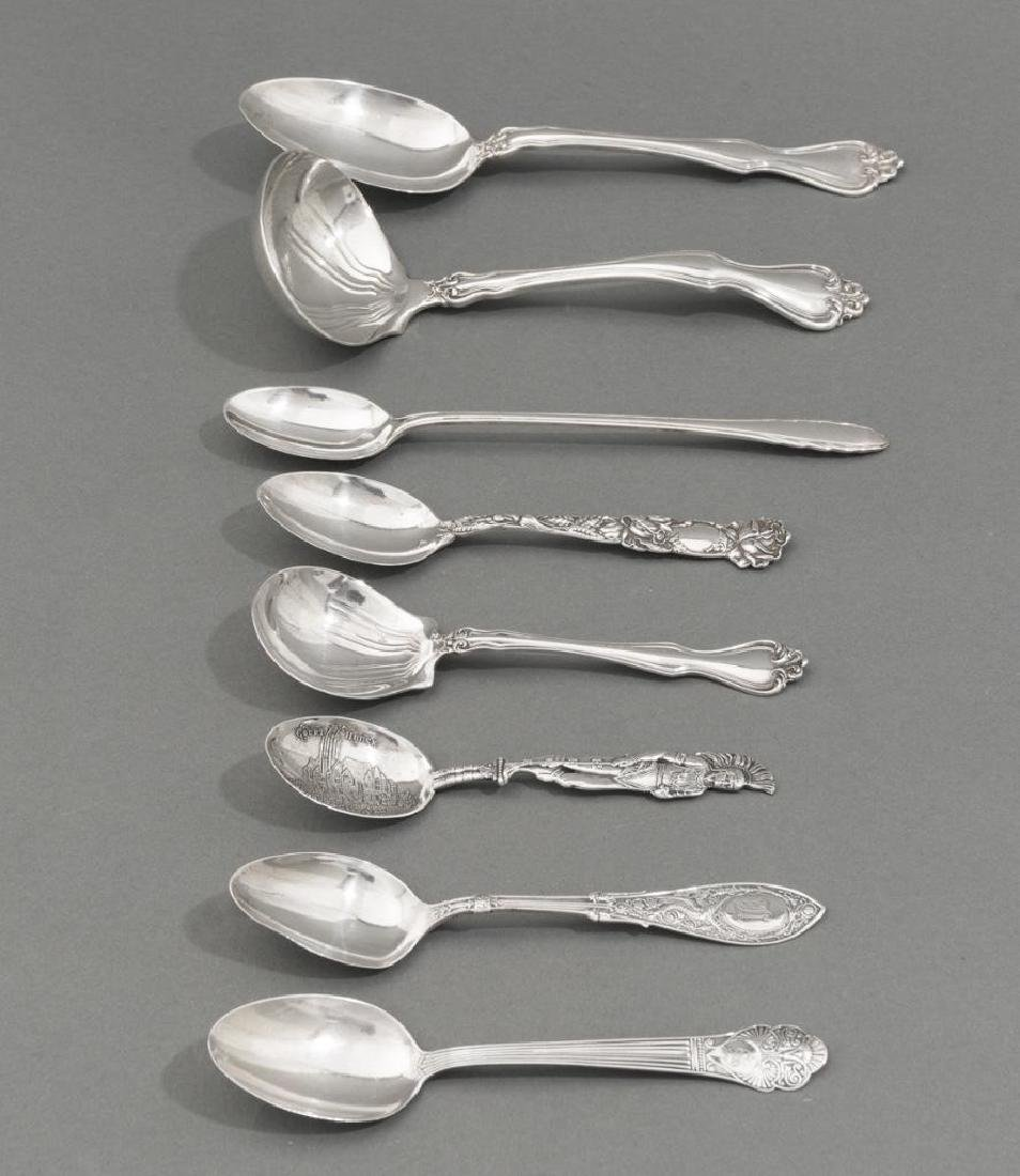 Assorted 57 Pieces of Sterling Silver Flatware - 2