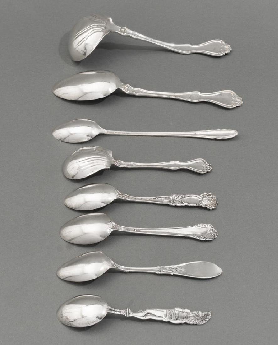 Assorted 57 Pieces of Sterling Silver Flatware - 3
