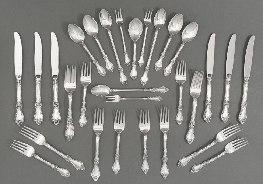 Royal Rose by Wallace 31 Sterling Silver Piece Flatware