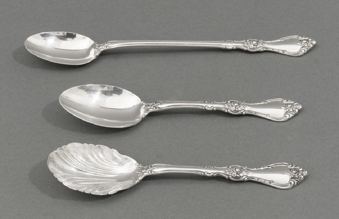 Royal Rose by Wallace 31 Sterling Silver Piece Flatware - 2