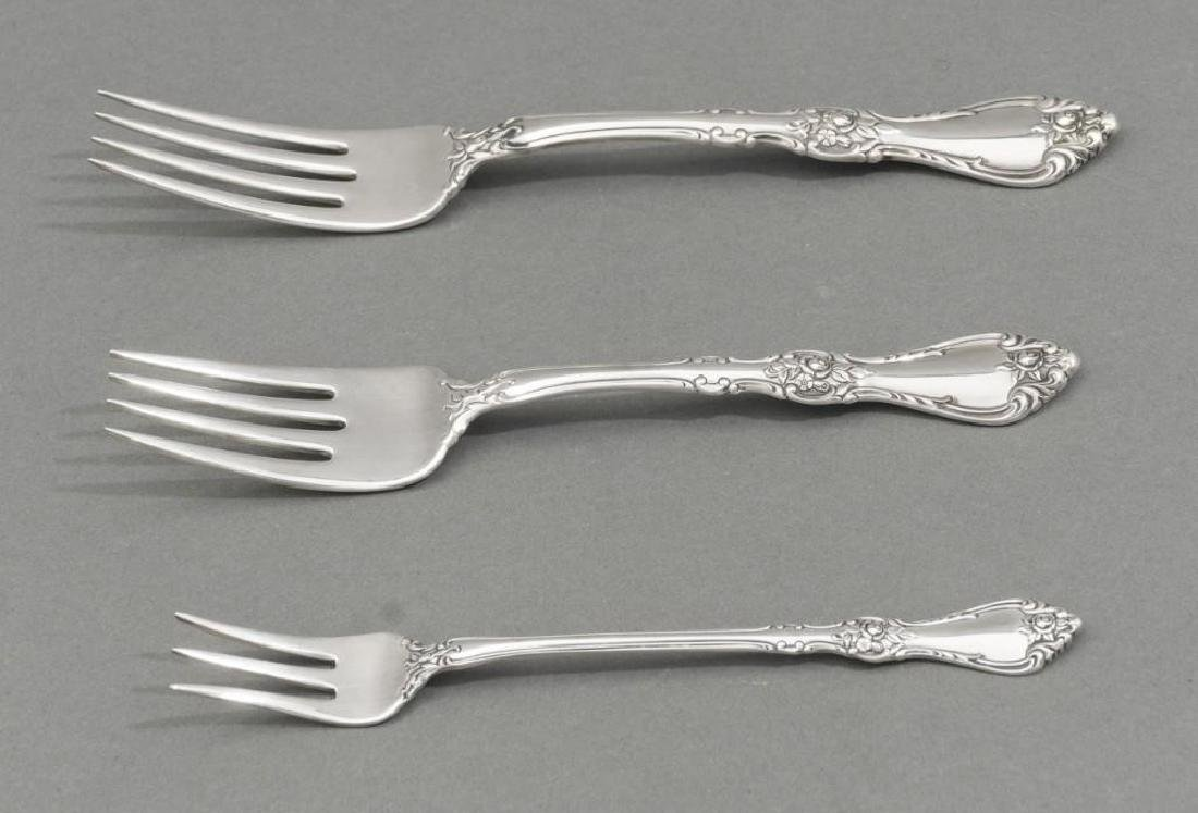 Royal Rose by Wallace 31 Sterling Silver Piece Flatware - 4
