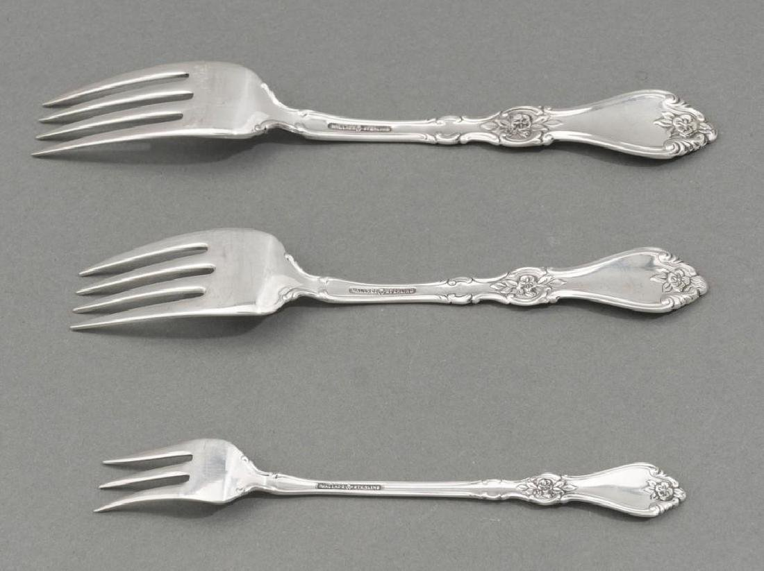 Royal Rose by Wallace 31 Sterling Silver Piece Flatware - 5